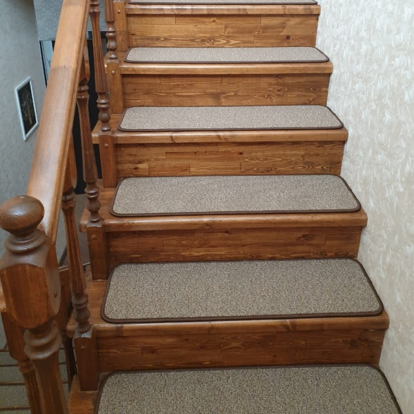 Ковровые накладки на лестницу Рябь-К