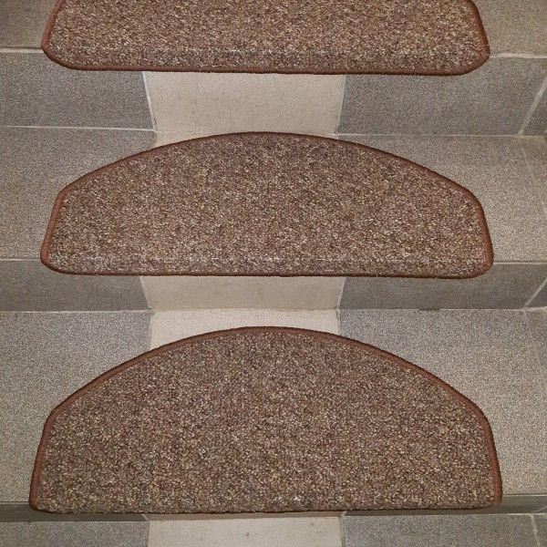Rocca - коричневые накладки из ковролина